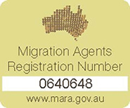 Migration Agents Registration Number - 0640648
